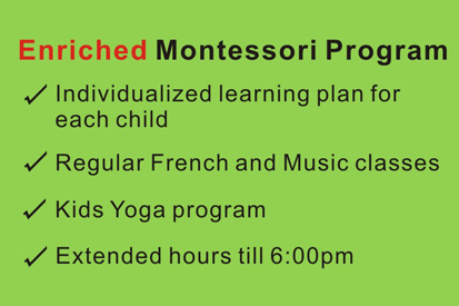 Enriched Montessori Program